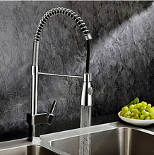 Nádherná kuchyňská baterie s výsuvnou sprchou