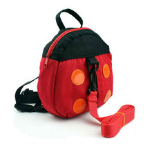 ALB+001 Baby Safty Essencial Baby Anti-Lost Bags Ladybug & Batman 2 Styles Available Unisex Cotton Material Free Shipping