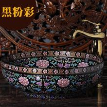 Europe Vintage Style Ceramic Art Basin Sinks Counter Top Wash Basin Bathroom  Vessel Sinks Vanities European Bathroom Sinks
