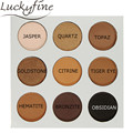 9Colors Eyeshadow Makeup Palette Lady Makeup Matte Shimmer Eyeshadow Palette For Beauty Natural Long Lasting Waterproof Matte