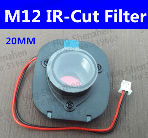 M12 IR Cut Filter IR-CUT For CCTV Camera Double Filter Switcher For Cctv IP AHD Camera HD 3MP Day/night 20MM Lens Holder 8915