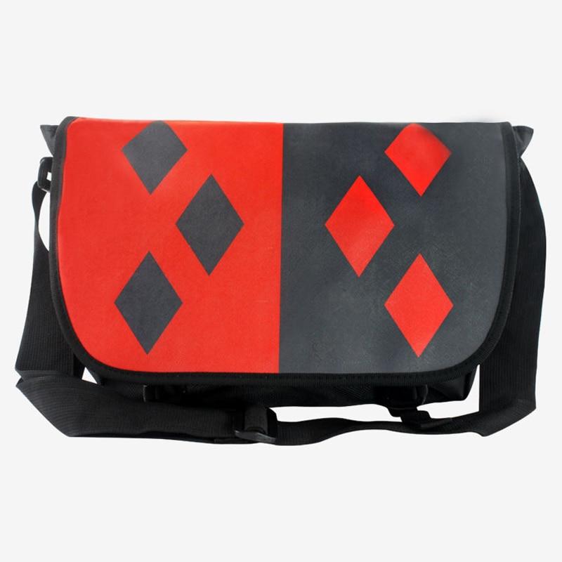 One Piece Naruto Harle y Quinn <font><b>Symbol</b></font> Knapsack Backpack School Should Bag