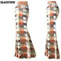 Women Summer Long Flower Skirt 2016 Faldas Largas Sexy Knit Pencil Skirt Womens Jupe Longue Bohemian Saia Longa Long Skirt 94256