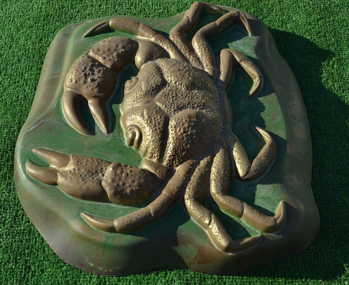 Diy Garden Plastic Molds For Casting Crab Cement Garden