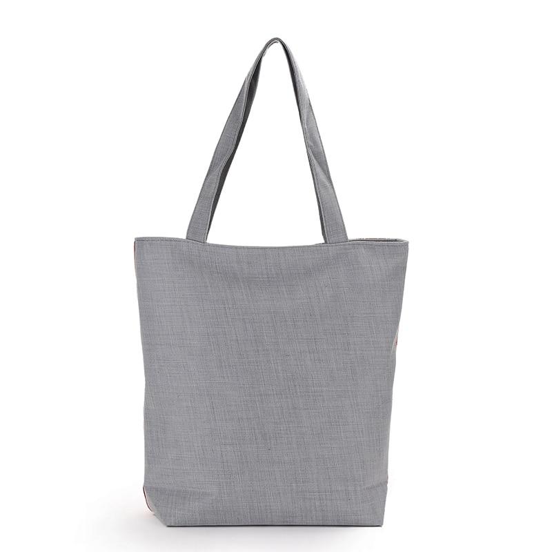 New Arrival Female Canvas Tote European Style Fashion Printing Women Handbag Canvas Beach Bags For Girls Bolsa Feminina