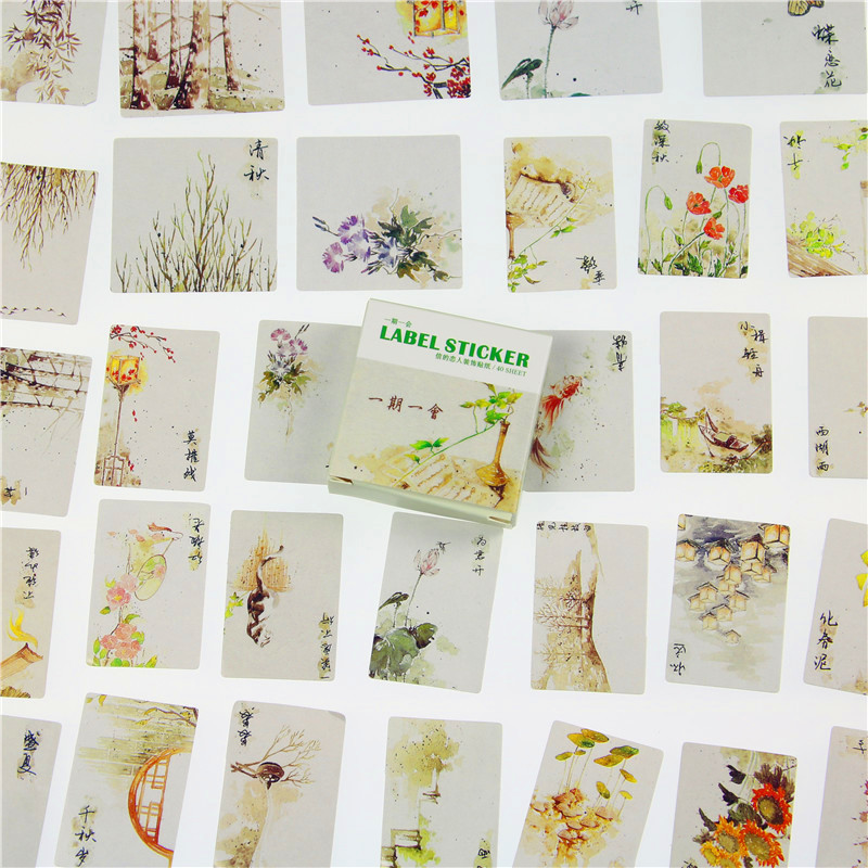 40 Pcs / Lot The Letter Box Sticker Set A lovers Archaic Period For A While Into The Hand 4040 Pcs / Lot The Letter Box Sticker Set A lovers Archaic Period For A While Into The Hand 40