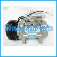 air auto ac  Compressor for JOHN DEERE New Holland Valtra T 180 Trator DENSO 130mm 8pk 24v|A/C Compressor & Clutch| |  -