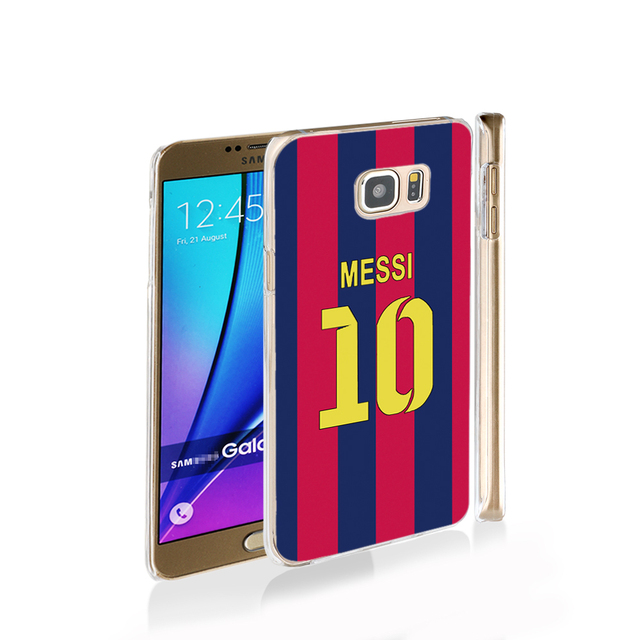 messi jersey  10 football cell phone case cover for Samsung Galaxy Note 3,4,5,E5,E7 G5108Q G530 grand prime