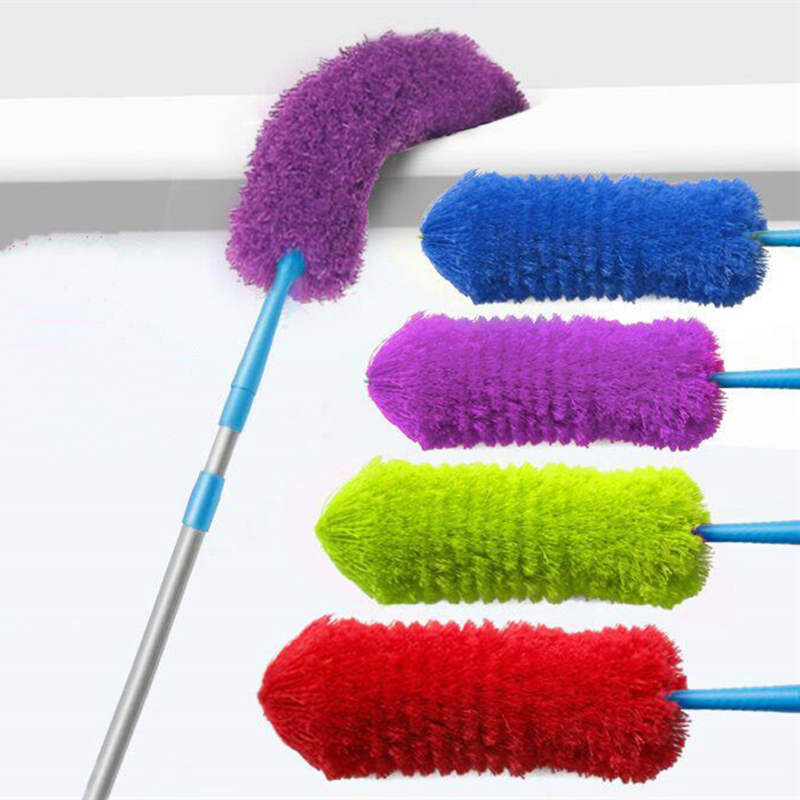 Practical Stretch Extend Soft Microfiber Duster Dust Cleaner household car Furniture cleaning brush cleaning tool