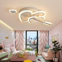 Creative personality LED ceiling lights love simple romantic wedding room girl bedroom lamp children lamp balcony ceiling lamp