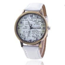 2017 Fashion erkek saat Quartz Watch Women Girl Roman Numerals Leather Band Wrist Bracelet Watches Hot sale Dropship Relogio