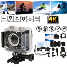 snowshine2#4501 Bike Bicycle Computer Camera Ultra HD 4K Wifi 16MP 1080P Waterproof Sports Action Cam Camera DV DVR Camcorder