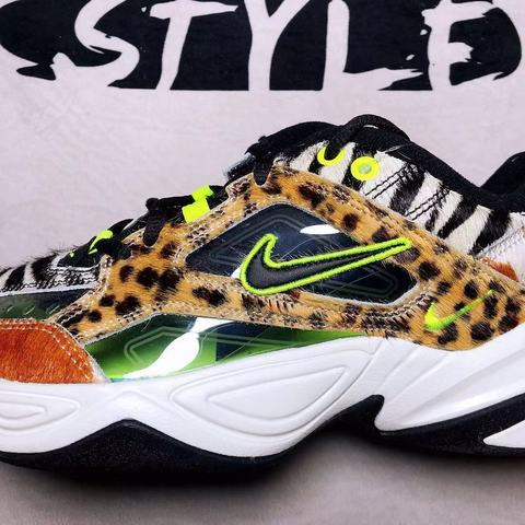 Nike M2k Tekno Men Running Shoes OAnimal Print Breathable Comfortable Outdoor Sports Sneakers Men New Arrival#CI9631-037 Multan
