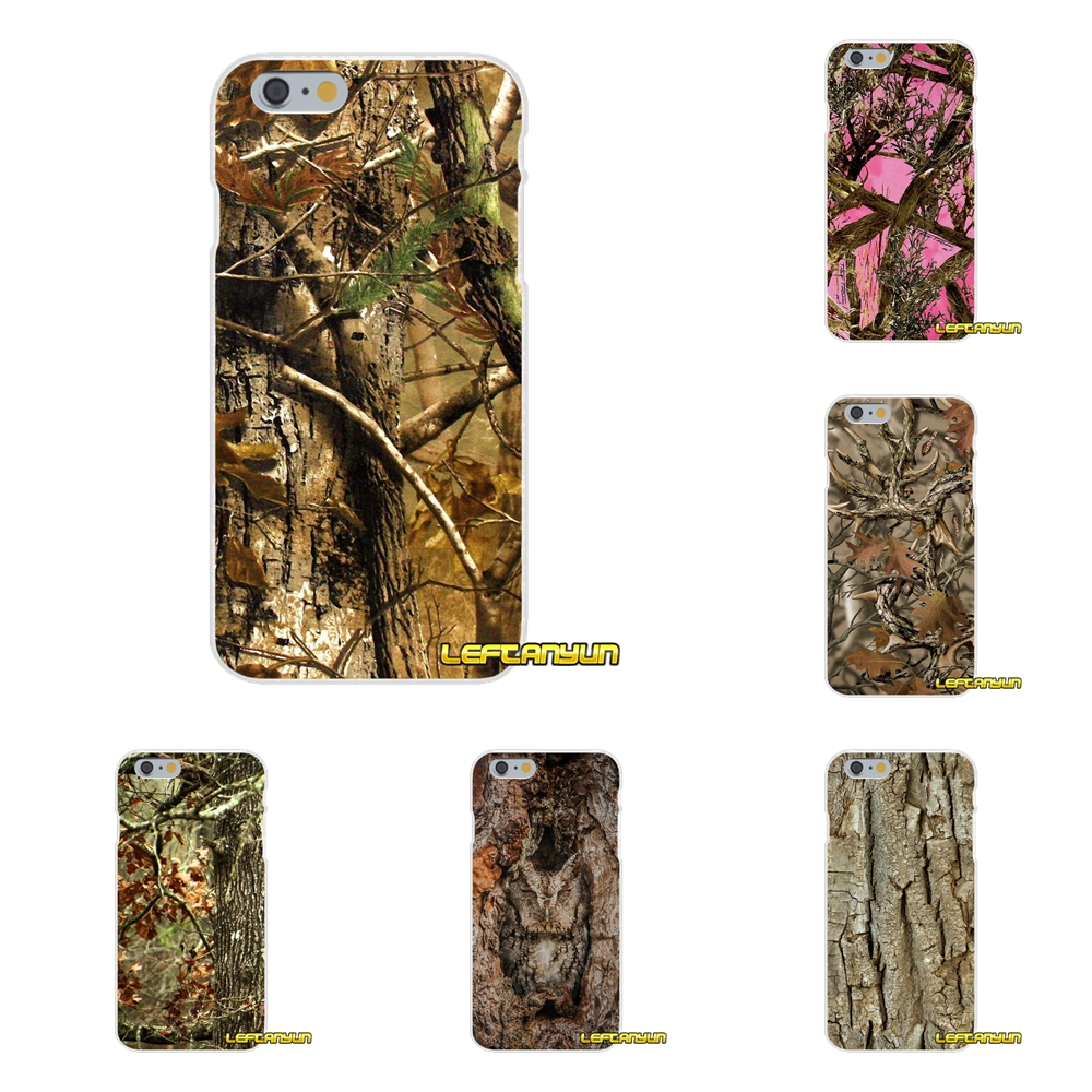 Camo Camouflage Tree Soft Silicone phone Case For Samsung Galaxy S3 S4 S5 MINI S6 S7 edge S8 Plus Note 2 3 4 5