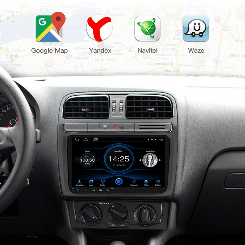 10 inch 9 inch RDS Radio 2din Android 8 1 universal 1G 16G Car stereo 1024x600 screen GPS Mirror Link Bluetooth wifi FM AM SWC in Car Multimedia Player from Automobiles Motorcycles