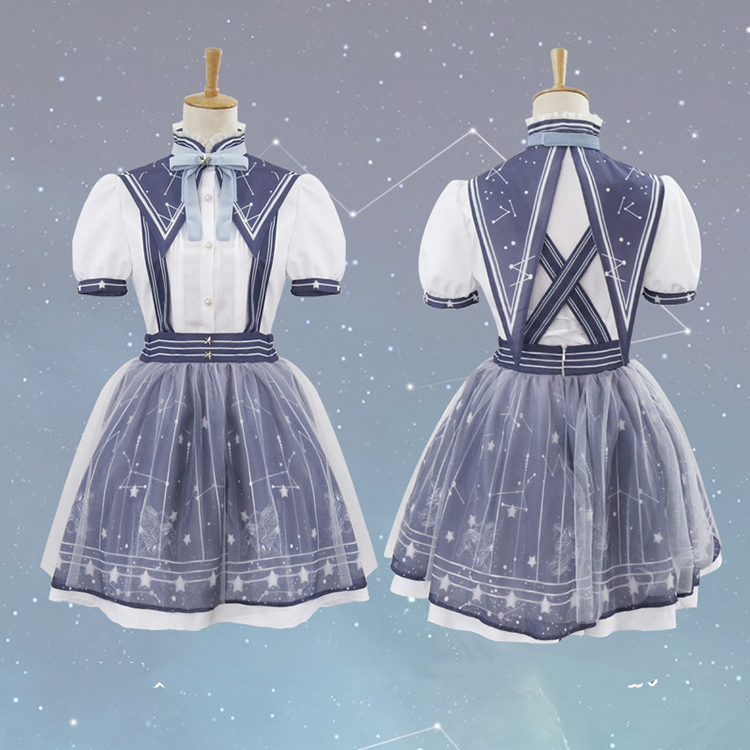Miracle-warm-with-the-same-paragraph-COS-clothing-lolita-streamer-garden-autumn-pick-star-classic-daily (2)