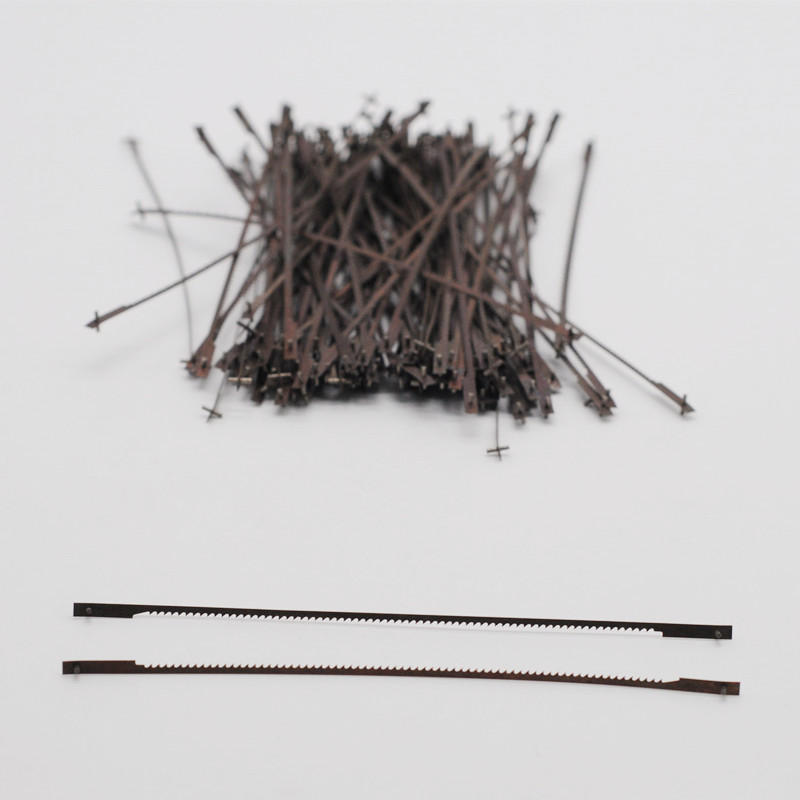 Dental Lab Tools Long Saw Blades 100Pcs/bag <font><b>127mm</b></font> For Dentistry Clinic image