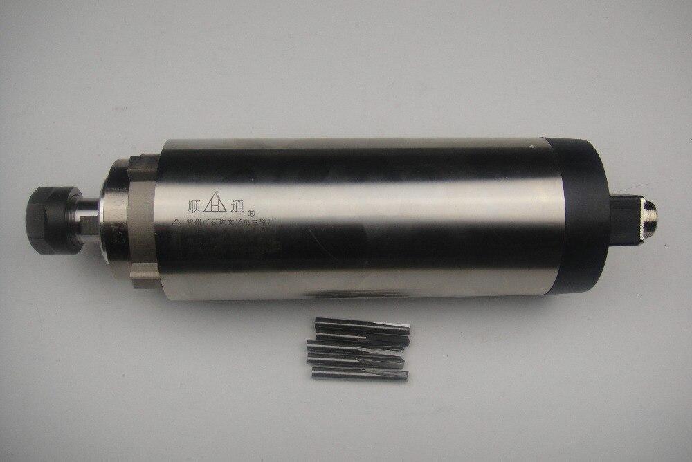 Aletler'ten Takım Tezgahı Mili'de CNC freze mili ER20 2.2KW hava soğutma mili + CNC gravür alet uçları