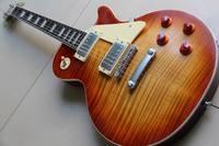 Nova Chegada Cnbald R9 Guitarra Elétrica um pedaço do pescoço envelhecido Sunburst Série tinta número 130116