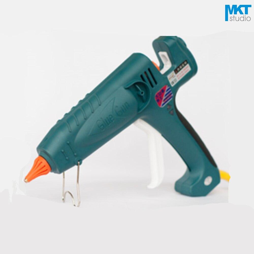 1 шт. зеленый 300 Вт терморегулируемый Электрический Термо нагревательный термоплавкий клеевой пистолет пульлер для клея 11 мм