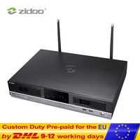 ZIDOO X20PRO Smart Android TV Box UHD 4K HDR Set Top Box Quad Core 4G DDR4 32G eMMC Dual Hard Disk Drive NAS Android Top Box