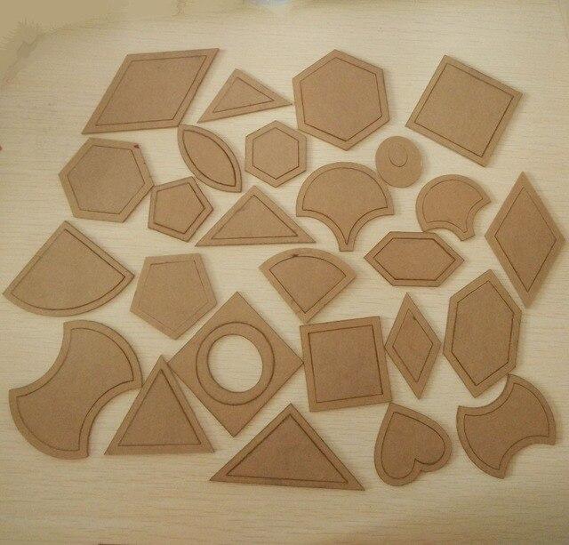 54 piezas mezclado edredón plantillas herramientas diy de acrílico ...