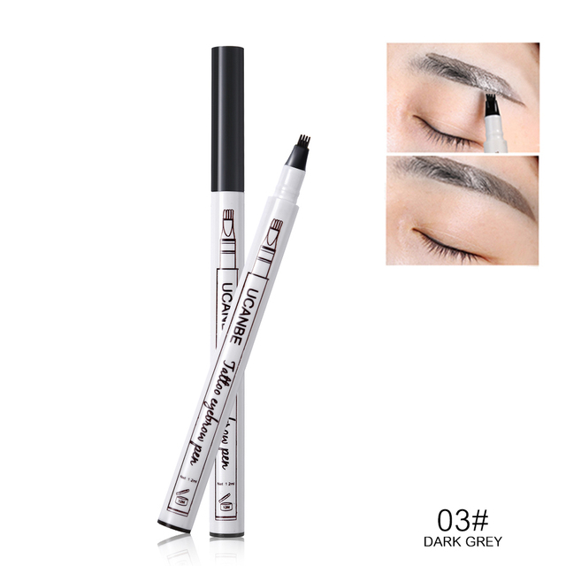 UCANBE Cosmetics Fine Sketch Liquid Eyebrow Pencil Makeup Waterproof Durable Tattoo Smudge-proof Eye Brow Pen 5