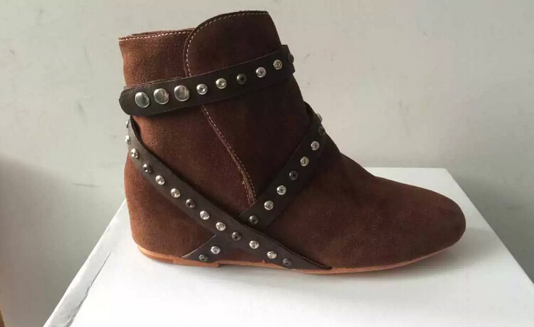 Aliexpress.com : Buy NEW suede ankle boots 2015 winter brown boots ...