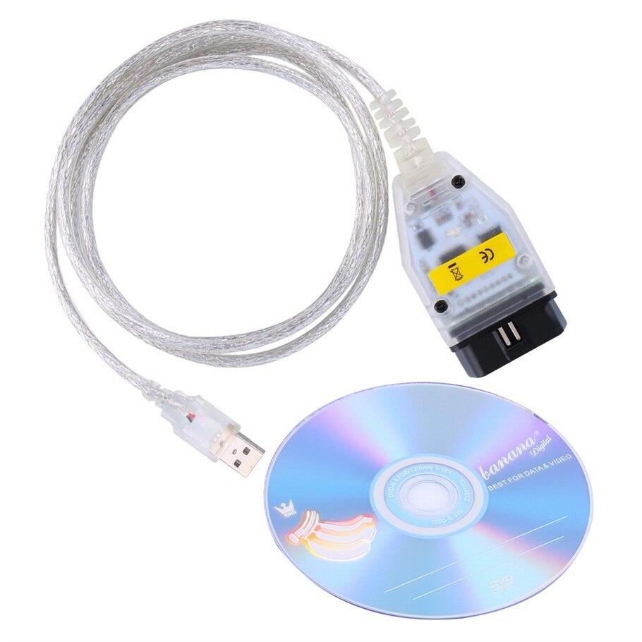 Auto voiture câbles De Diagnostic pour BMW INPA K peut inpa k dcan USB OBD2 Interface INPA Ediabas inpa k + dcan pour BMW chaude vente