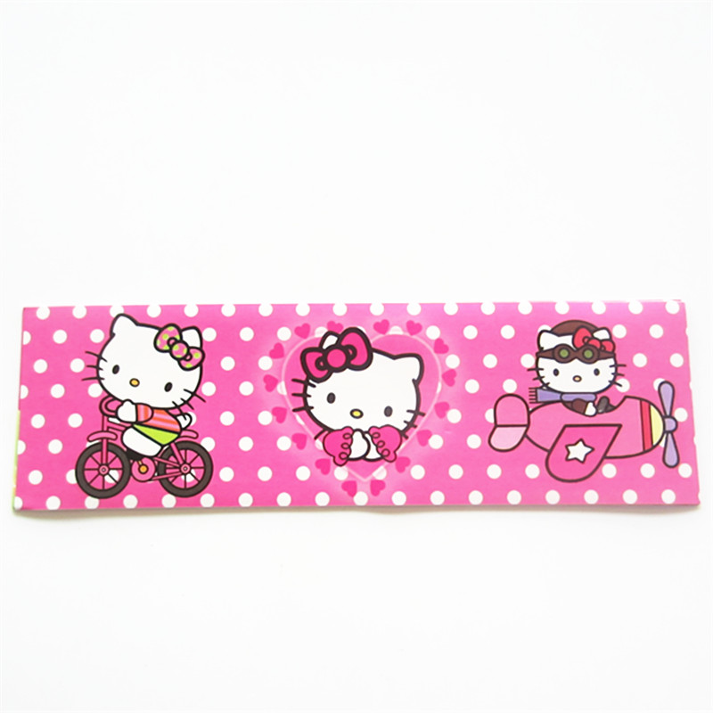 12pcs Hello Kitty Label Bottle Kids Birthday Party Decoration Water Baby Shower Decor In DIY Decorations From