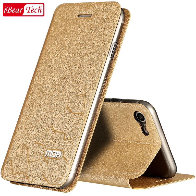 mofi for iphone 7 case silicon leather back case cover 4 7 flip for iPhone7 plus