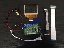 O envio gratuito de 3.5 polegada a + grau pd035vx1 pd035vx2 tft lcd tela & av + vga placa controlador