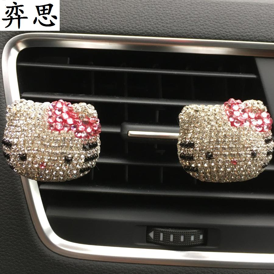 new pattern ma'am Car Styling perfume Diamond lovely Hello TK cat Outlet perfume KT  Perfumes 100 Original Women