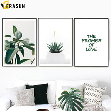 Green Plant Aloe Vase Glass Leaf Quote Nordic Posters And Prints Wall Art Canvas Painting Wall Pictures For Living Room Decor green leaves do what you love quote nordic posters and prints wall art canvas painting plant wall pictures for living room decor