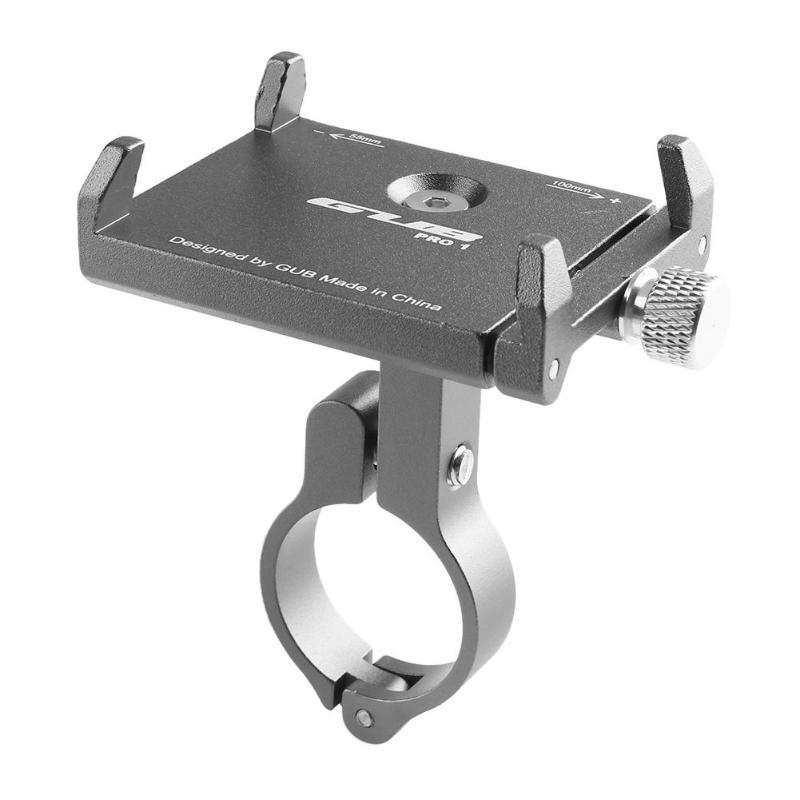 Aluminum Bicycle Handlebar Phone Holder GUB PRO1 Universal Clamp Bracket Mount
