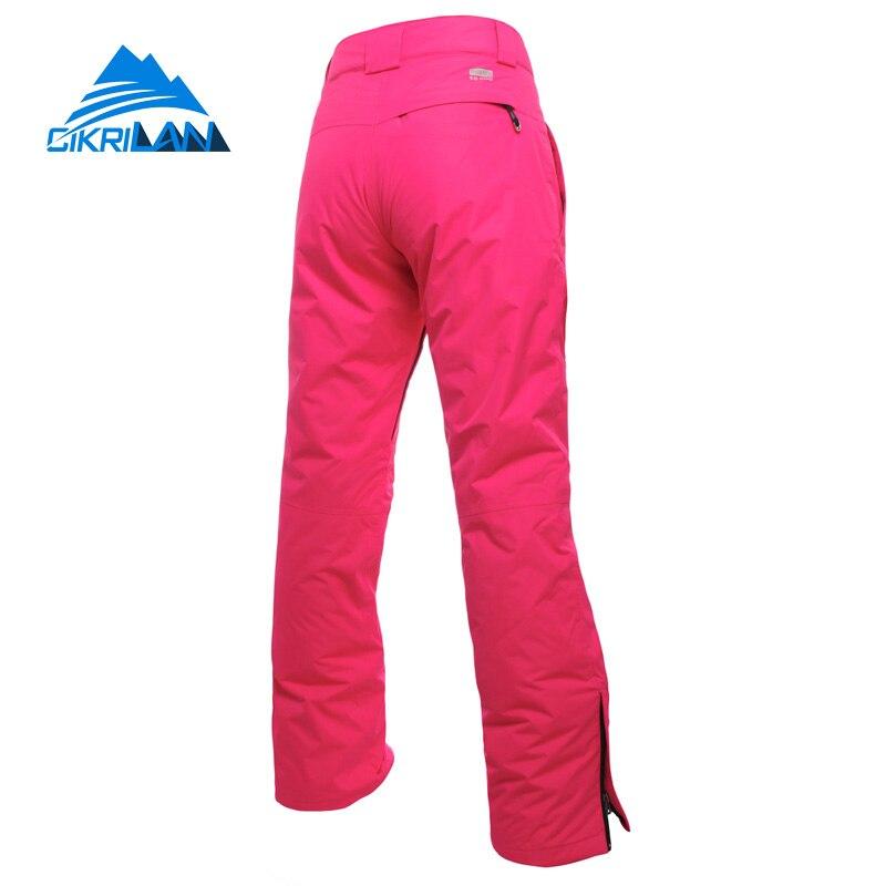 Pantalon de Ski de randonnée en plein air pour femmes, hiver 2019, Ski de neige, pantalon coupe-vent, combinaison de Snowboard - 5