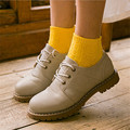 Women Girl Retro Vintage Cable Ankle Knit Thick Line Socks Solid Color Cotton National Wind Short Tube Socks Femmale 7color w123