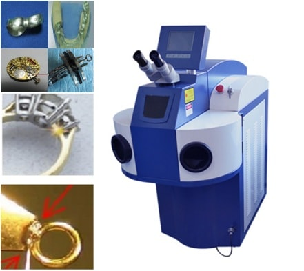 Factory direct sale of laser welding machine denture/ jewelry spot welder 200W high quality