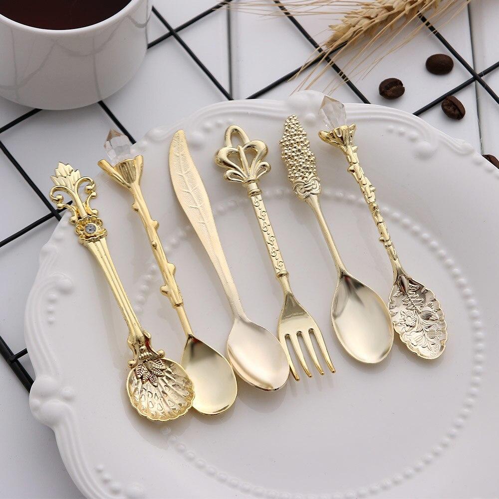 1:12 Dollhouse Miniatures Kitchen kitchenware Vintage Carved Fork ~Bronze~ 1pc \