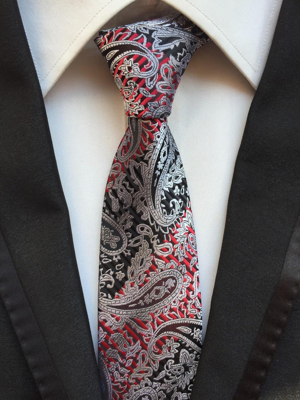 pánská módní kravata pro polyesterové hedvábné kravaty obchodní žakárové gravata pánské kravaty kostkované pruhy ležérní krk vázanka kapesník A147