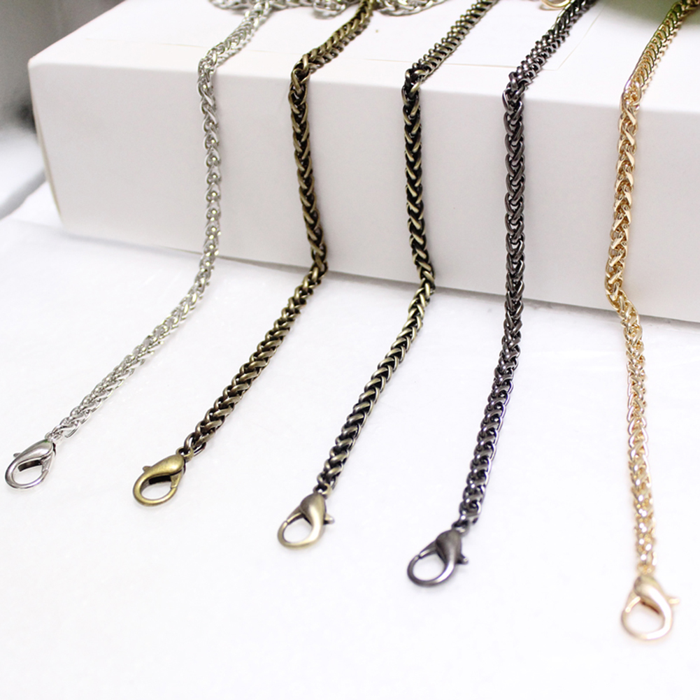 120cm Chain Accessories For Bag Belt Straps Metal Bag Parts Accessories Bags Chain Belts Hardware For Handbag Handle Accessories