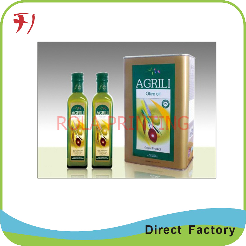 Customized Factory Price Self-adhesive and fashion Red wine/Whisky Label Wholesale