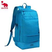 Oiwas Brand Waterproof Blue School Travel Backpack Multifunction Casual Laptop Notebook Large Men Male Shoulder Bag