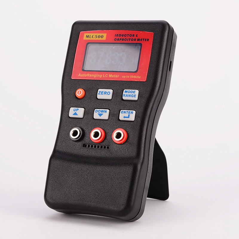 home improvement : Precision Digital Capacitance Inductance Meter AutoRange Component Tester 500KH LC RC Oscillation Inductance Multimeter 0 01pF