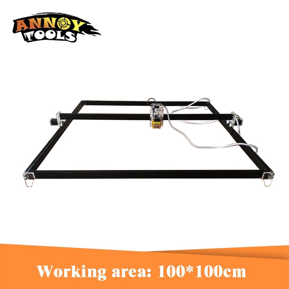 15w 15000mW Laser Engraver,Laser Cutter,100cm*100cm Working Area Laser Engrave Machine With TTL/ PWM Laser Cutting Machine