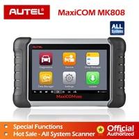 Autel MaxiCOM MK808 Diagnostic tool MX808 Exclusive Agent Autel for MK808 100% Original Oil /EPB/SAS/BMS Reset Auto diagnostic