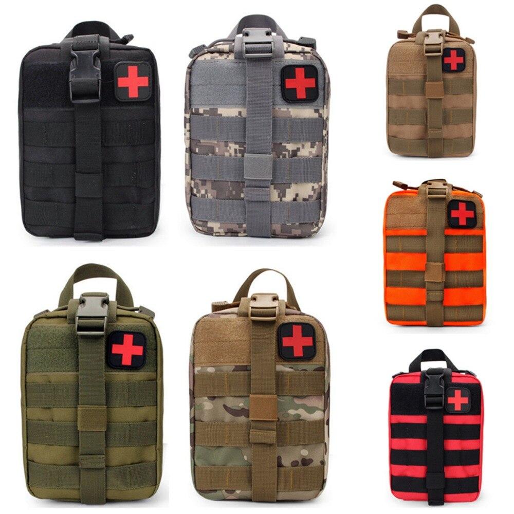 CQC טקטי EDC Molle פאוץ הרפואי IFAK שירות EMT העזרה הראשונה הישרדות תיק חירום Airsoft הצבאי ציד תיק