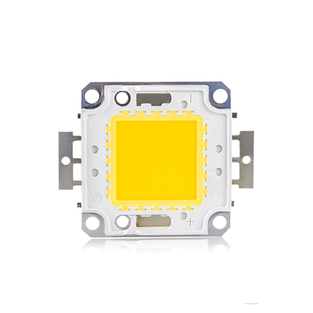 White Warm White LED Chips DC 12V 36V High Power LED COB Projector Matrix Chip for Spotlight Floodlights 3W 10W 20W 30W 50W 100W