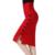 Plus Size Nova Moda 2017 Mulheres Saia Midi Saia Magro OL Fenda Aberta Sexy Botão Fino Saia Lápis Senhoras Elegantes Saias 2 cores
