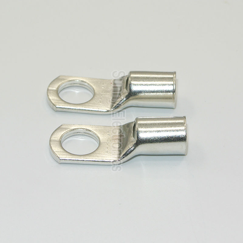 10 pcs sc120 12 sc120 14 sc120 16 bateria cabo taloes terminais de tubo de cobre